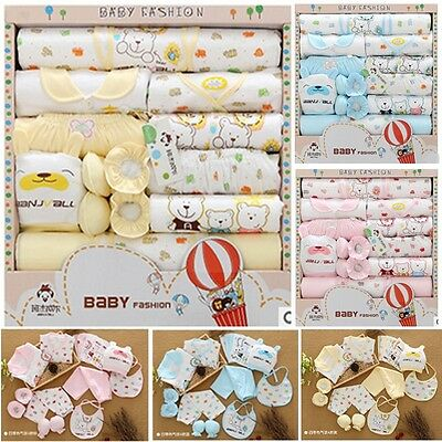 18PCS/Gift /Set  New Style Baby Cotton Clothing Set /Newborn Hot Sales Gift /Inf