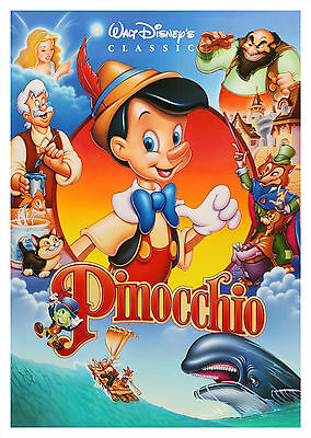 Pinocchio (1940) V2 - A1/A2 POSTER **BUY ANY 2 AND GET 1 FREE OFFER**