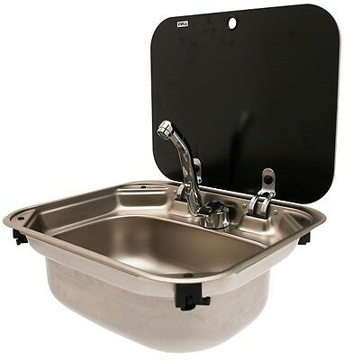 Smev 8005 Ss Sink With Lid No Taps 017161 Dometic New
