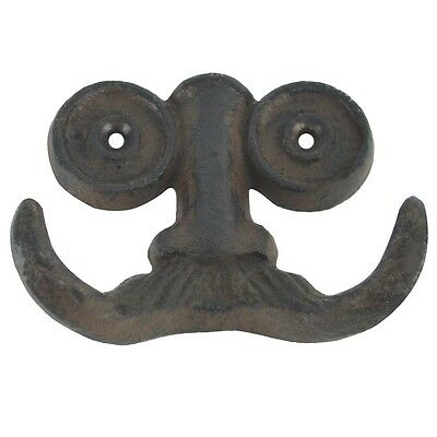 Nose Spectacles/Mustache Face Wall Hook Key/Towel/Jewelry Hanger Steampunk Decor