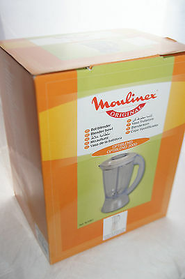 Genuine Moulinex Optiblend 2000 AW5 Liquidiser Blender Jug ACV801