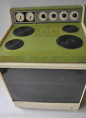 vintage COLECO Pretend Toy GREEN OVEN 1970s