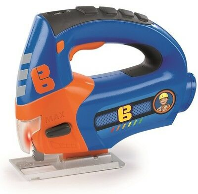 New Smoby Bob The Builder Battery Powered Jig-Saw Power Tool Toy Age 3+