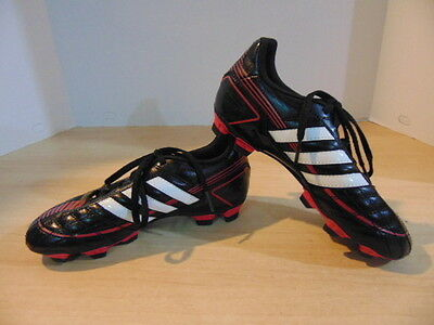 Soccer Shoes Cleats Children's Size 3 Adidas Puntero Black Pink