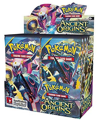 POKEMON ENGLISH XY ANCIENT ORIGINS Booster Box 36ct SEALED IN HAND!!