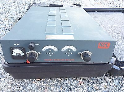K&L Tuneable Bandpass Diplexer 30-88MHz for Racal Repeater In Case