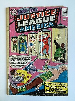 Brave and the Bold 30 (Complete!) 3rd app. Justice League; 1960; D.C. (c#04373)