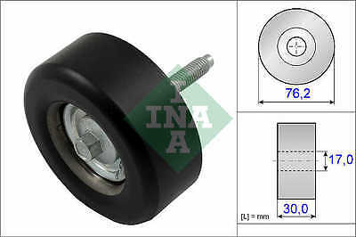 FORD MONDEO 2.3 Auxiliary Belt Idler Pulley 2007 on 532065110 Deflection INA