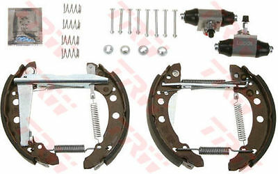 VW GOLF Brake Shoes Rear 76 to 93 GSK1500 Set TRW VOLKSWAGEN Quality Replacement