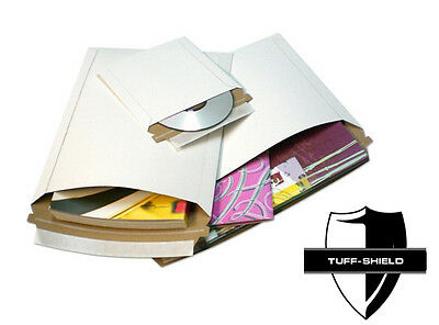 """9""""x11.5"""" RIGID LAY FLAT Mailers with Self Seal"""