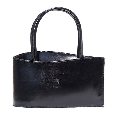 3e6039e1cde73 HANDBAG BAG ITALIAN Genuine Leather Hand made in Italy Florence 206 ...
