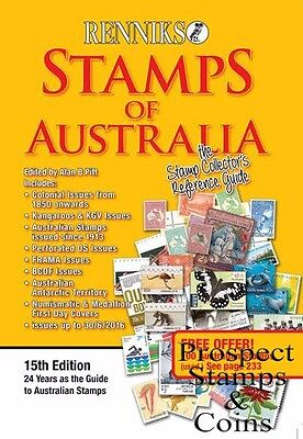 2016 RENNIKS Stamps of Australia 15th Edition Stamp Catalogue