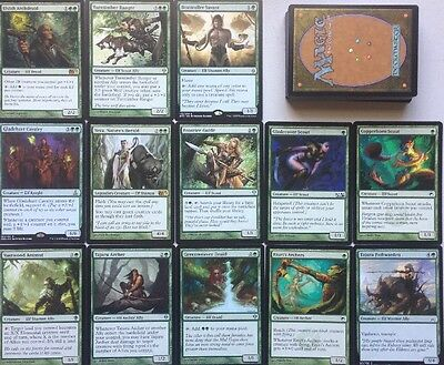 Instant ELF DECK! Ready To Play 60 Cards Mtg Green