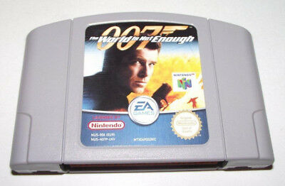 007 The World Is Not Enough Nintendo 64 N64 PAL
