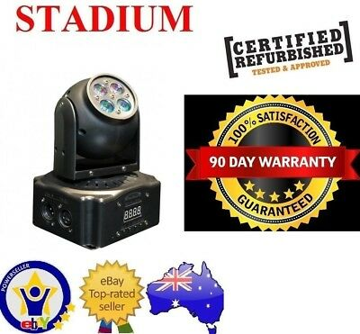 Stadium Bluetooth AUX Karaoke System Built in Light Show PA PARTYMAKER LITE