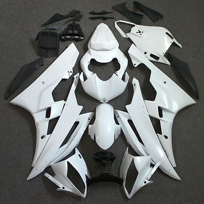 ABS Unpainted Fairing Kit Bodywork Injections For YAMAHA YZF R6 2006-2007