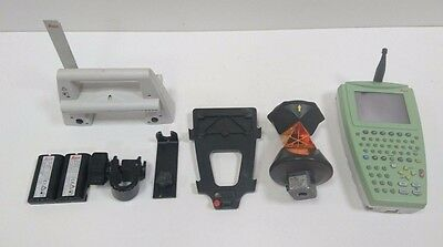Leica RX1250TC Controlller and RH1200 Radio Handle with 360 Prism and brackets