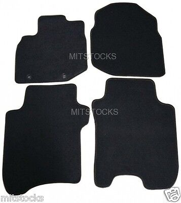 2004 2006 GGBAILEY D4359A-S1A-BLK/_BR Custom Fit Car Mats for 2003 2007 Saturn Ion Sedan Black with Red Edging Driver Passenger /& Rear Floor 2005