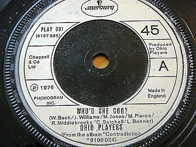 """Ohio Players - Who'd She Coo  7"""" Vinyl"""