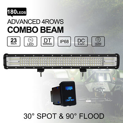 "23 inch 900W CREE LED Light Bar Combo Off Road 4WD Work Driving light 20""22"""