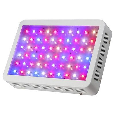 SunSpect 300W 60 LED Grow Light Panel for Hydroponic Tent Lamp Veg Flower Plant