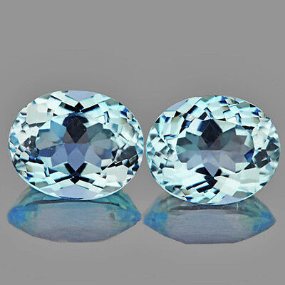 IF~9.02CT OVAL 11X9mm AAA LUSTER SKY BLUE TOPAZ NATURAL GEMSTONE BRAZIL