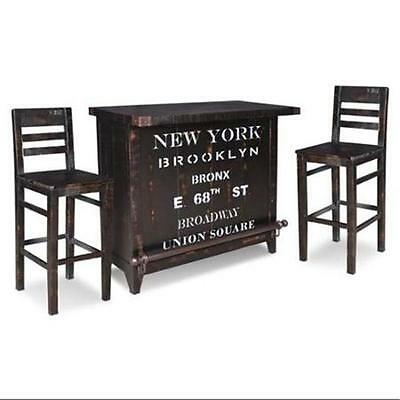 Sunset Furniture International Trading Graphic 12 Bottle Wine Bar Holders Set...