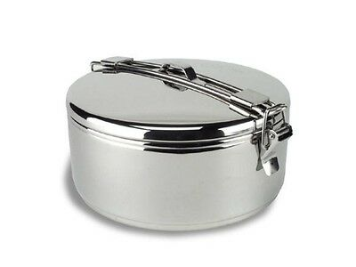 MSR Alpine Stowaway 775ml Pot Stainless Steel Open Fire Cooking Camping Biker