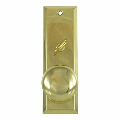 "2-1/4"" X 7"" Escutcheon Plate w/ Knob And Thumb Turner"