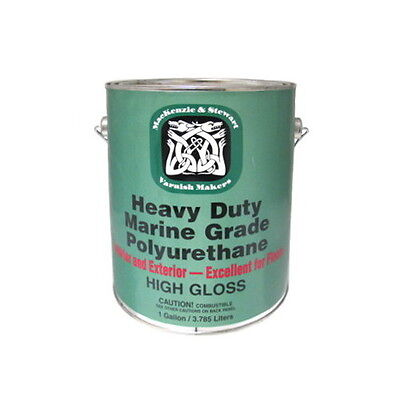 Gallon Heavy Duty Marine Gloss Polyurethane