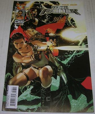 TOMB RAIDER: THE SERIES #48 LARA CROFT (Image 2005) Adam Hughes cover (VF-)
