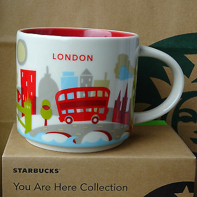 starbucks city mug cup you are here series yah london england 14oz new cad picclick ca. Black Bedroom Furniture Sets. Home Design Ideas