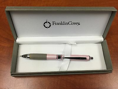 Cross Hinsdale Franklin Covey Multi-Function Ballpoint Pen  - Pink Lacquer