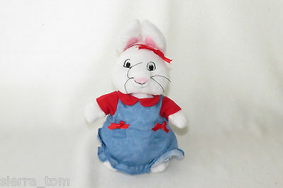 Max & Ruby Bunny Sister Barnes Noble Dress Plush Stuffed Animal Doll Toy 10""
