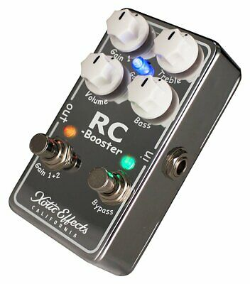 NEW! Xotic Effects RC Booster V2 (Version 2) - Ultra Clean Boost RCB-V2