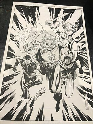 Squadron Sinister #1 Variant Cover - Signed by Stan Lee! 2015 art by Jim Cheung