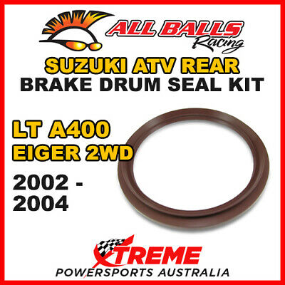 30-15801 Suzuki Atv Lta 400 Eiger 2Wd 2002-2004 Rear Brake Drum Seal Kit