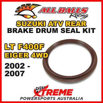 30-15801 Suzuki Atv Ltf 400F Eiger 4Wd 2002-2007 Rear Brake Drum Seal Kit