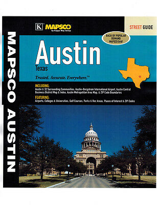 Austin, Texas, Street Guide, by Mapsco 2013
