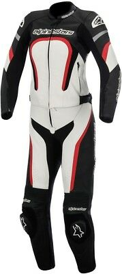 Alpinestars Stella Motegi 2PC Womens Leather Motorcycle Street 3171015-123-44 44