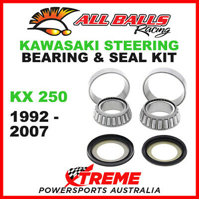 22-1023 Kawasaki KX250 KX 250 1992-2007 Steering Head Stem Bearing & Seal Kit