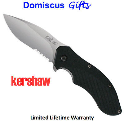 NEW! Free Shipping KERSHAW Spring Assisted POCKET KNIFE Clash 1605ST Knives