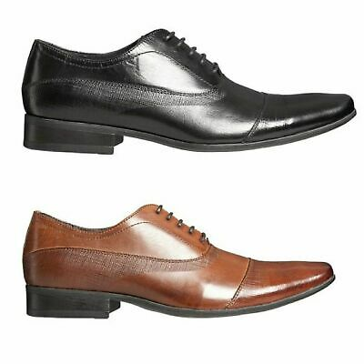 JULIUS MARLOW Borris Mens Shoes Lace Up Dress Work Formal Black Coffee Brown