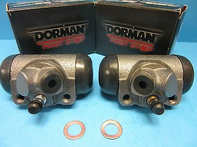Set 2 Drum Brake Wheel Cylinder Front-Left/Right Dorman W14493 Pair Expedited
