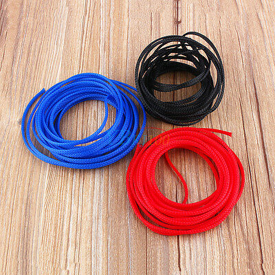 4/6/8/10/12mm Expandable PET Braided Cable Wire Tube Sleeving DIY 5/10M 3 Colors