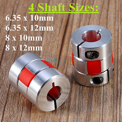 Aluminium Flexible Plum Shaft Coupling CNC Stepper Motor Connector Coupler New