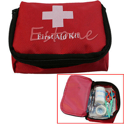 New Mini Outdoor Hiking Camping Survival Travel Emergency First Aid Kit Bag