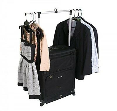 Dream Music Dance Bag with Rack Best Travel Suitcase w Costume Storage Holder