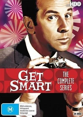 Get Smart Complete Series Collection Seasons 1-5 New Sealed DVD Box Set Region 4