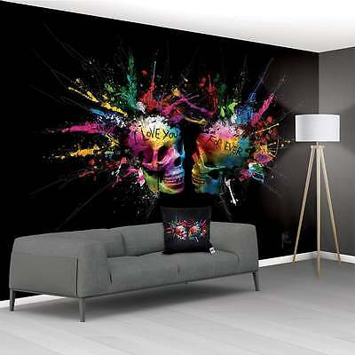 Patrice Murciano Non Woven Paste The Wall Xxl Wall Mural 3.66 X 2.53M - Skulls